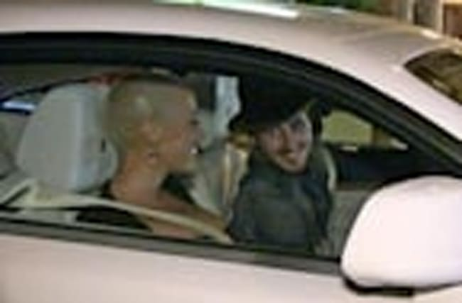 Amber Rose -- New Guy Spinning Her New Wheels ... Can't Work the Doors