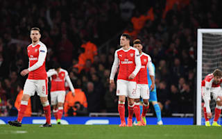 'We do care' - Walcott hurting after Arsenal exit