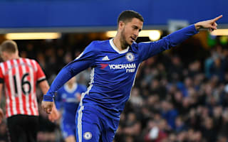 Puel praises former pupil Hazard after Chelsea defeat