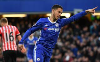Puel praises former pupil Hazard after Chelsea defeat