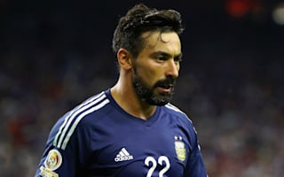 Lavezzi added to Argentina squad as Dybala drops out