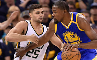 Durant and Warriors poised for Conference Finals after downing Jazz