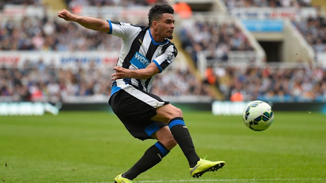Emmanuel Riviere and Jamie Sterry leave the Toon