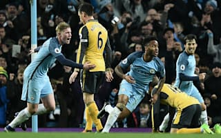 Manchester City 2 Arsenal 1: Sane and Sterling seal comeback