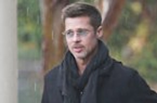 Brad Pitt Looks Handsome in the Rain as Angelina Jolie Becomes Face of Fragrance Brand