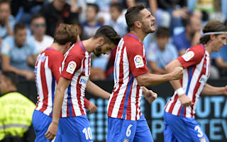 Celta Vigo 0 Atletico Madrid 4: Griezmann shines in first win