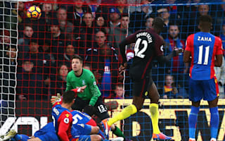 Crystal Palace 1 Manchester City 2: Toure makes hero's return
