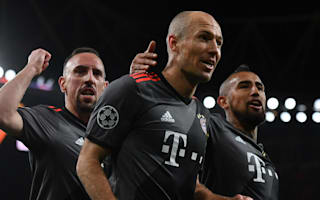 Bayern were sleeping in the first half - Robben wants more after thumping Arsenal