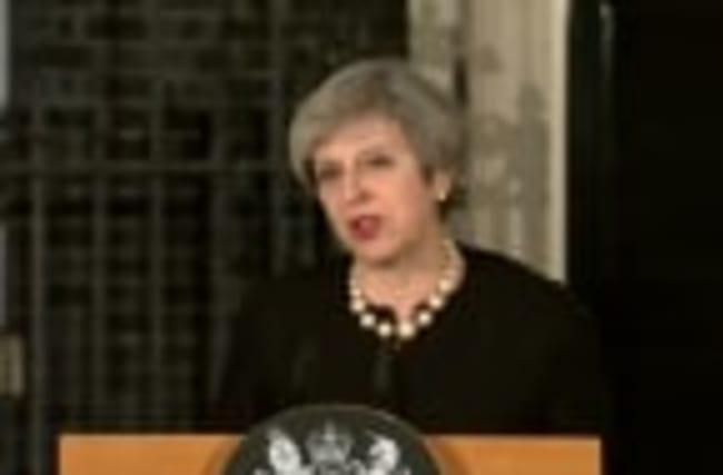 "British PM: Parliament attack ""sick and depraved"""