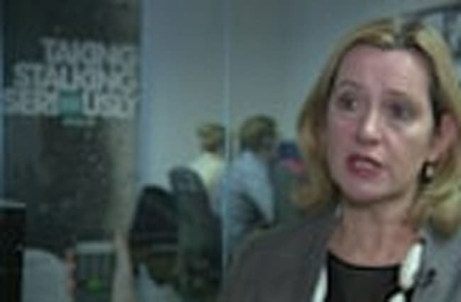 Amber Rudd announces more severe stalking measures