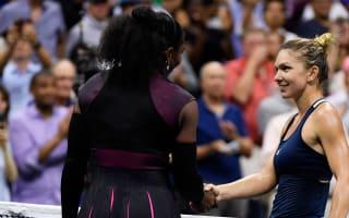 Halep encouraged despite Serena defeat