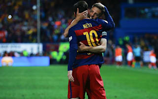 Alba: Messi deserves credit for my goal