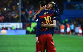 Alba: Messi deserves credit for my goal