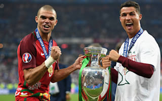 Pepe dodges questions on Ronaldo future