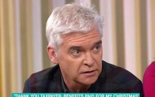 Phillip Schofield blasts woman who bought prosecco with benefits
