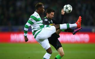 Borussia Monchengladbach 1 Celtic 1: Dembele keeps hopes alive with late equaliser
