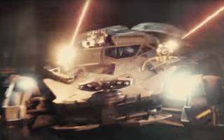 Justice League teaser trailer shows Batmobile in action