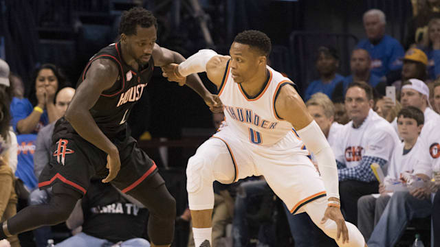 Oklahoma City Thunder Rally to Defeat Houston Rockets