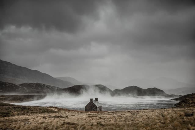 Adult Classic view - Winner: Dougie Cunningham - Shelter from the Storm, Loch Stack, Sutherland, Scotland