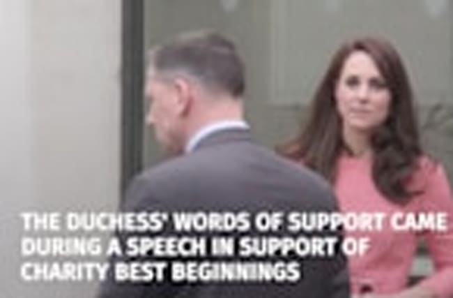 Duchess of Cambridge expresses sympathy with victims of terror attack