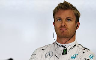 Rosberg hit with five-place penalty after crash, Vettel sets pace
