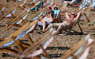 Here comes the sun! The Olympics looks set to be a 'scorcher'
