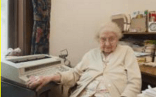 School secretary, 99, celebrates 80 years in job