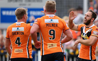 Castleford spoil Mounis' Dragons farewell