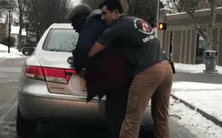 American Ninja Warrior contestant saves choking motorist