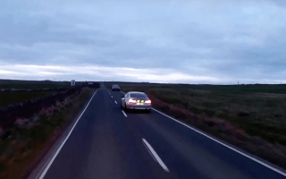 Heart-stopping near-miss caught on camera