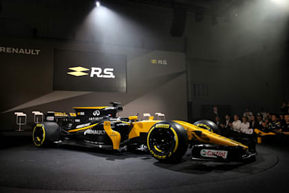 Guide to the 2017 Formula One cars - Renault R.S.17