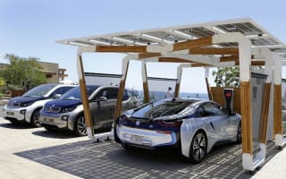 BMW creates unique Solar Carport concept