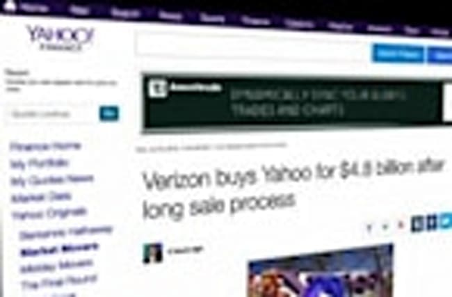Verizon Buys Yahoo For $4.8 Billion