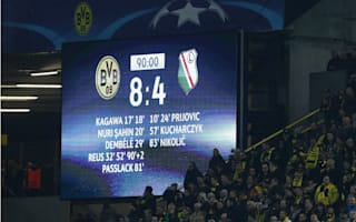 Dortmund eye top spot and a goalscoring record - Champions League in Opta numbers