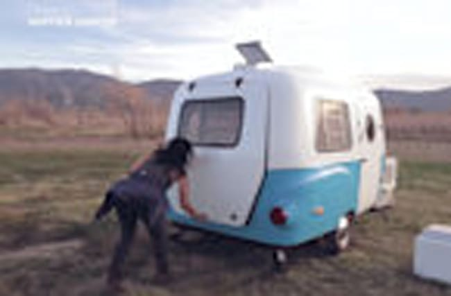 This groovy camping pod is all you need this summer