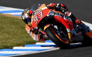 Rossi and Lorenzo crash out as Marquez wins MotoGP championship
