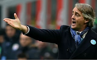 Mancini blames wasteful finishing and officials for Inter loss