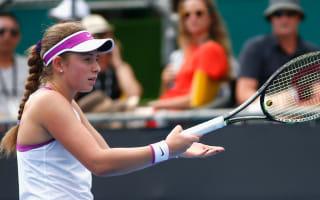 Ostapenko stuns Kvitova in Doha, Zheng marches on