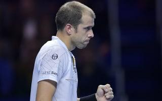 Muller downs Dolgopolov in Sydney, teenager De Minaur topples Paire