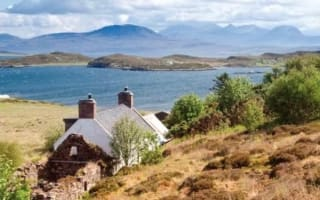 Self-sufficient private island for sale off Scottish coast