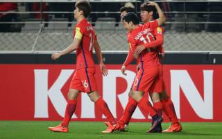 South Korea 1 Syria 0: Hong effort sees off spirited visitors