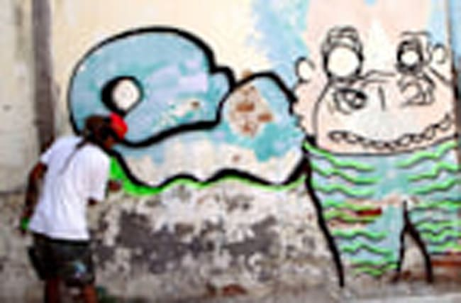 Cuban graffiti artists take over Havana streets