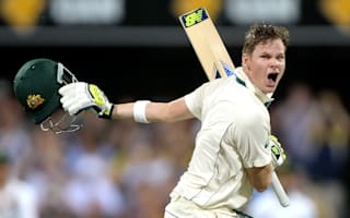 Smith century puts Australia on top