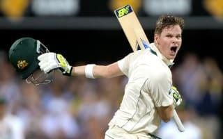 Smith century puts Australia on top
