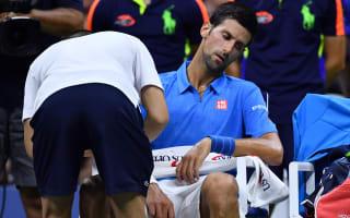 Djokovic plays down arm injury