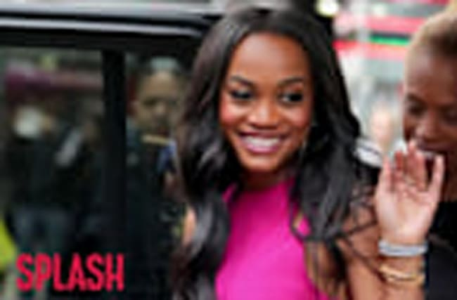 'Bachelorette' Rachel Lindsay Stuns in Pink Dress and Yeezys
