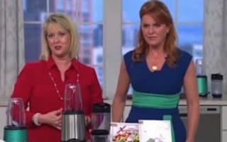 Sarah Ferguson selling food blenders on QVC