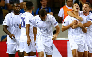 Club Brugge 0  Leicester City 3: Mahrez at the double in historic win