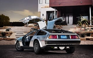 Great Scott, Marty! An electric DeLorean...