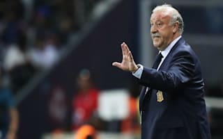Del Bosque delighted to see Spain score three times